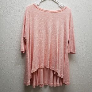 Pink Loose Fit Top